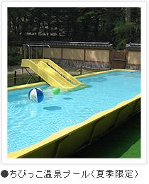 ちびっこ温泉プール(夏季限定)